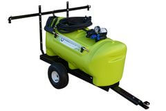 WeedControl 55L - 12v Spray Trailer with 8.3L/min and 2m Boom by TTi