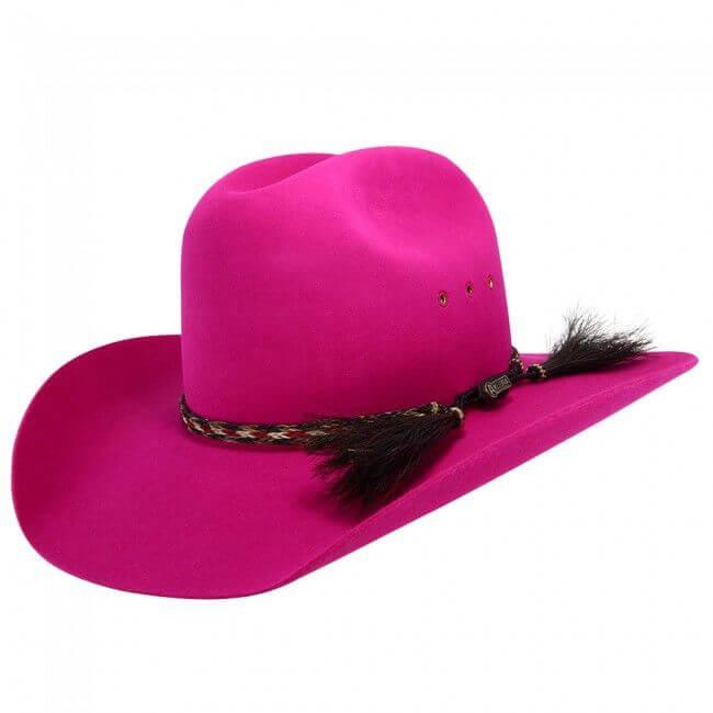 Akubra Rough Rider 751   Magenta Pink