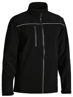 Bisley Mens Soft Shell Jacket Black