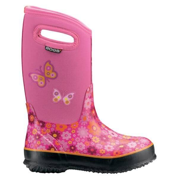 Bogs Kids Classic Daisy Pink  71190