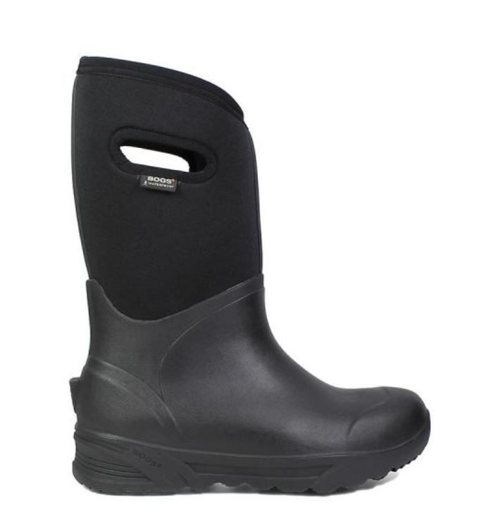 Bogs Menand39s Bozeman Tall Black  978533  NEW