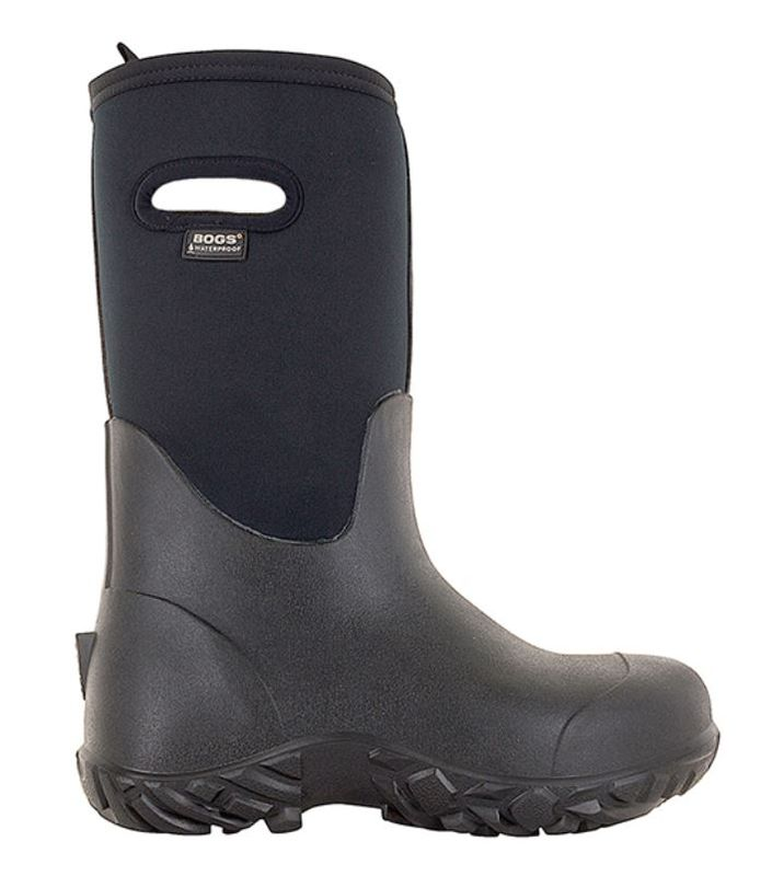 Bogs Menand39s Workman Tall Black  978537