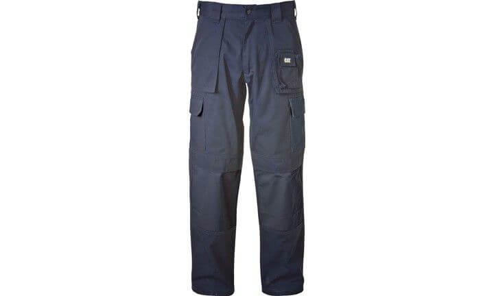 CAT trouser cargo workwear navy