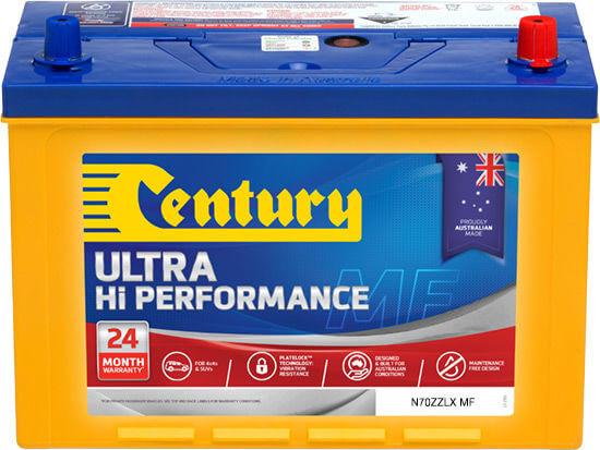 Century Battery N70ZZLX MF