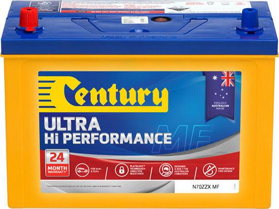 Century Battery N70ZZ 4WD