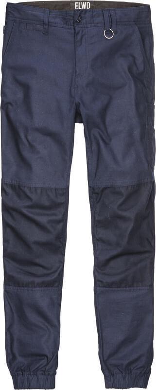 ELWD mens cuffed pants navy