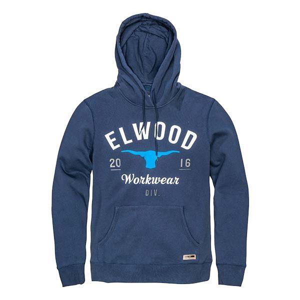 Elwd Original Pullover Hoodie navy