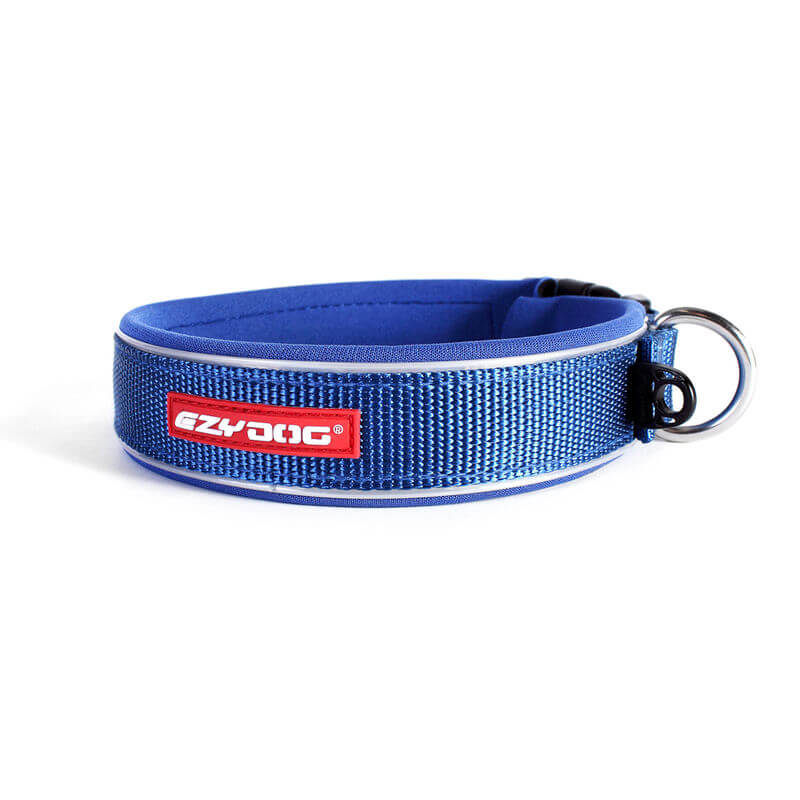 Ezy Dog Collar  Classic Blue Medium