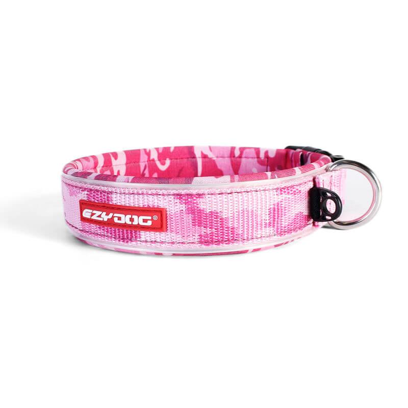 Ezy Dog Collar  Classic Pink Camo Medium