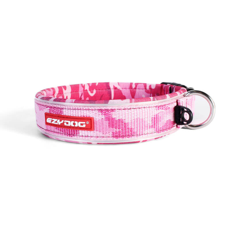 Ezy Dog Collar  Classic Pink Camo XL