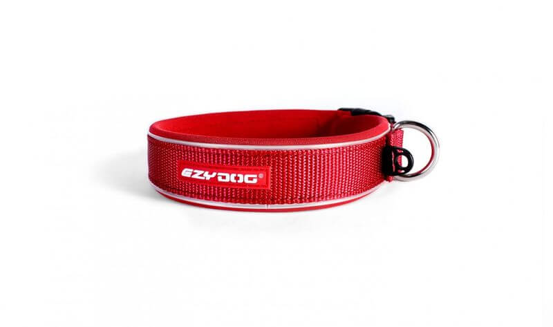 Ezy Dog Collar  Classic Red