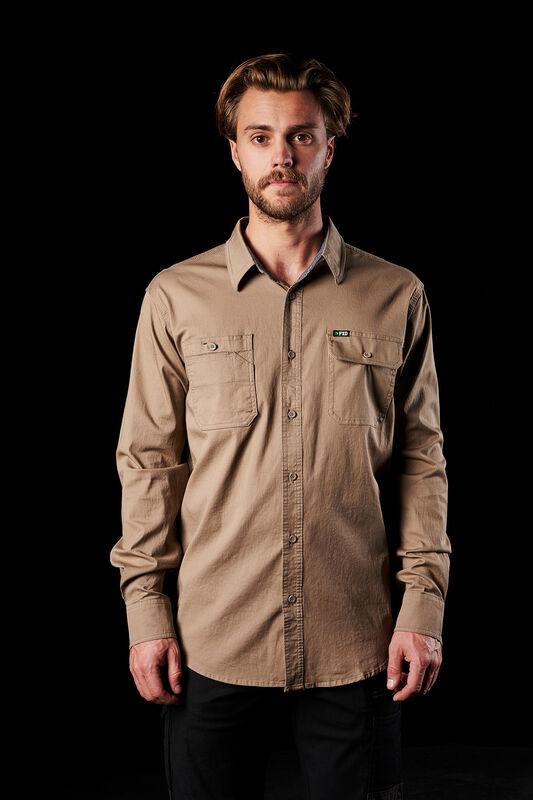FXD Long Sleeve khaki shirt