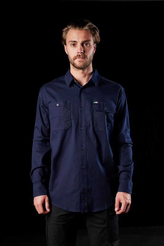 FXD Long Sleeve navy Shirt