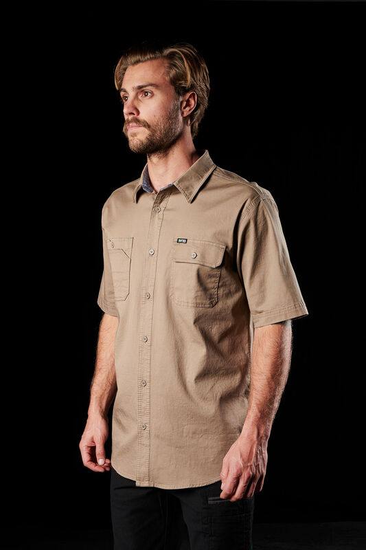 FXD short sleeve khaki shirt