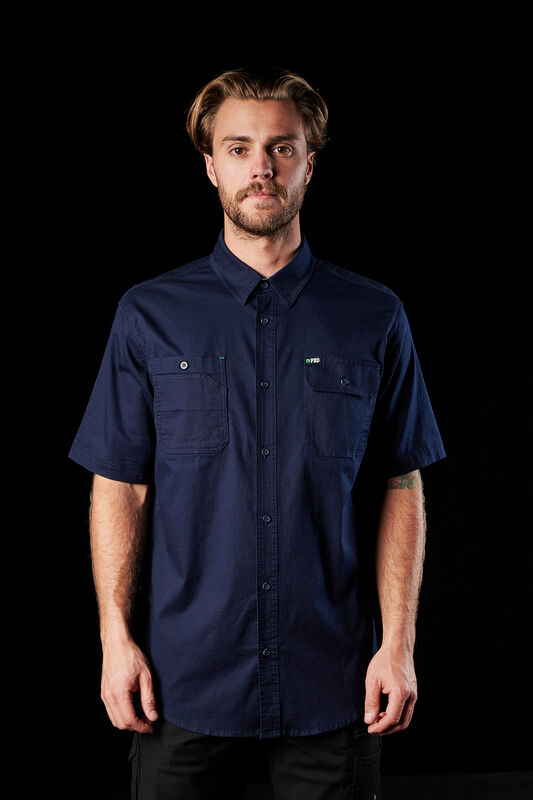 FXD short sleeve navy shirt