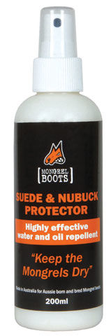 Mongrel Boots Suede and Nubuck Leather Protector 200ml