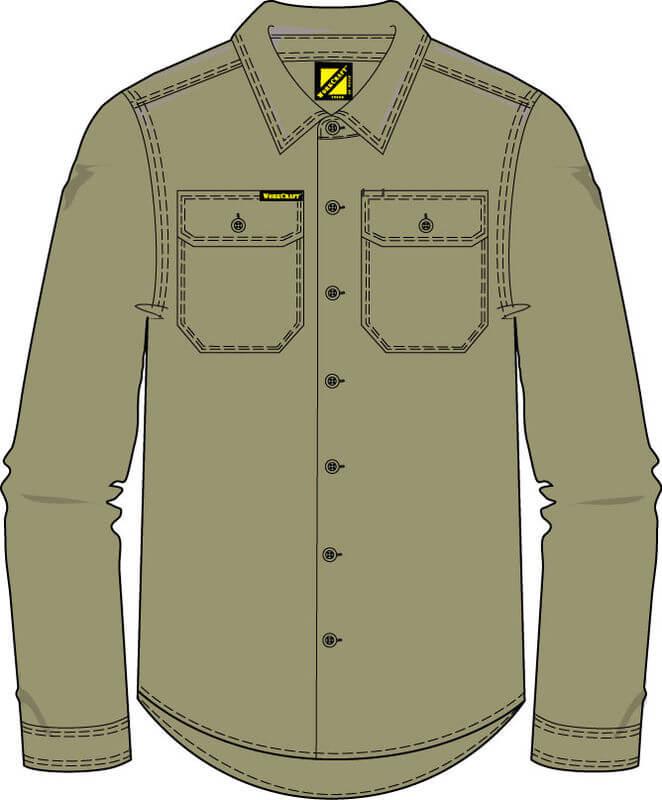 NCC WorkCraft  Long Sleeve Shirt Navy