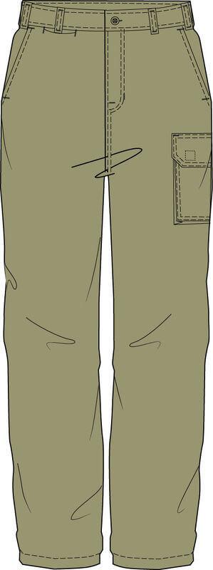 NCC WorkCraft  Trousers Khaki