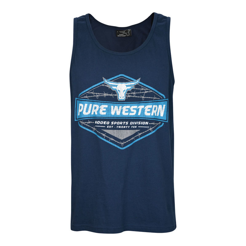Pure Western Menand39s Harry Singlet