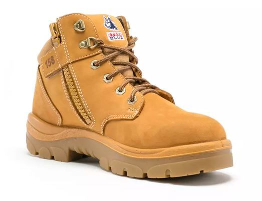 Steel Blue 312158 Parkes Zip   Wheat