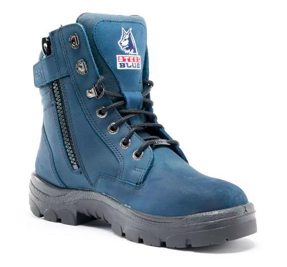 Steel Blue 312361 Southern Cross Zip   Blue