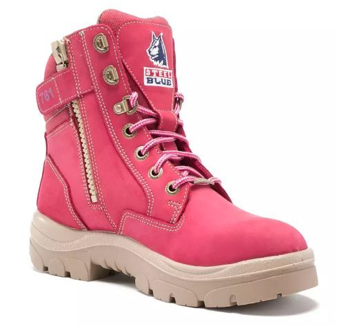 Steel Blue 512761 Ladies Southern Cross Zip Pink