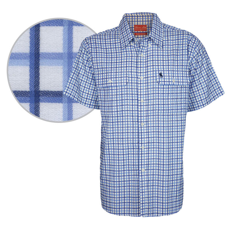 Thomas Cook Menand39s Finn Check Shirt