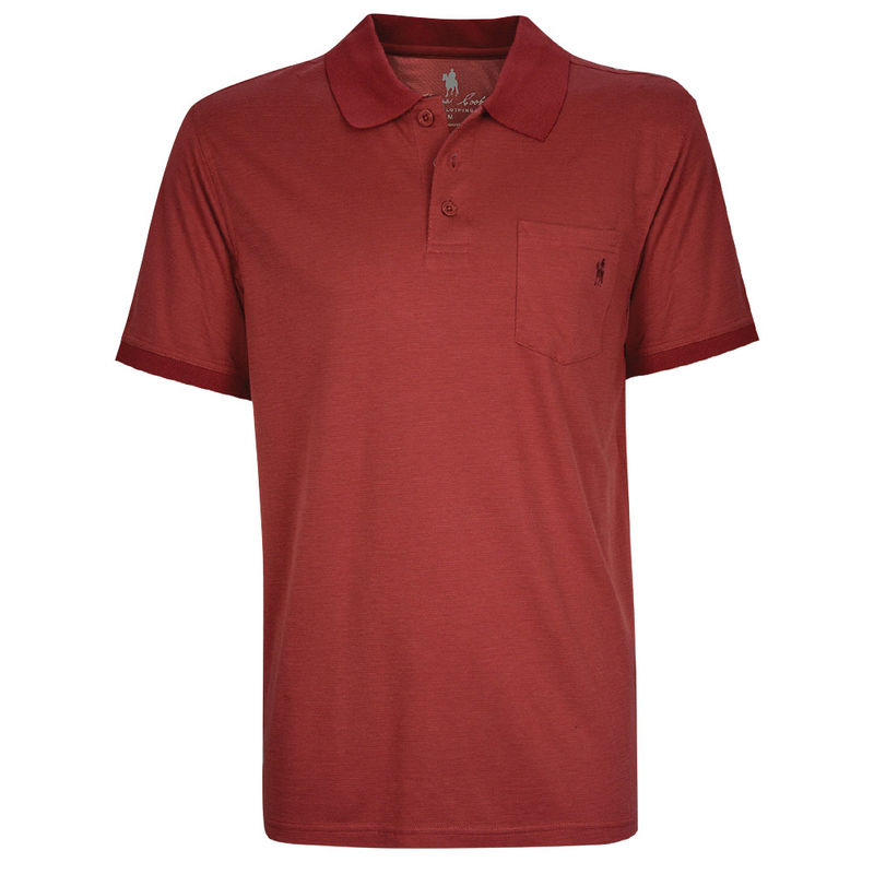 Thomas Cook Mens Bamboo 1PK SS Polo Red