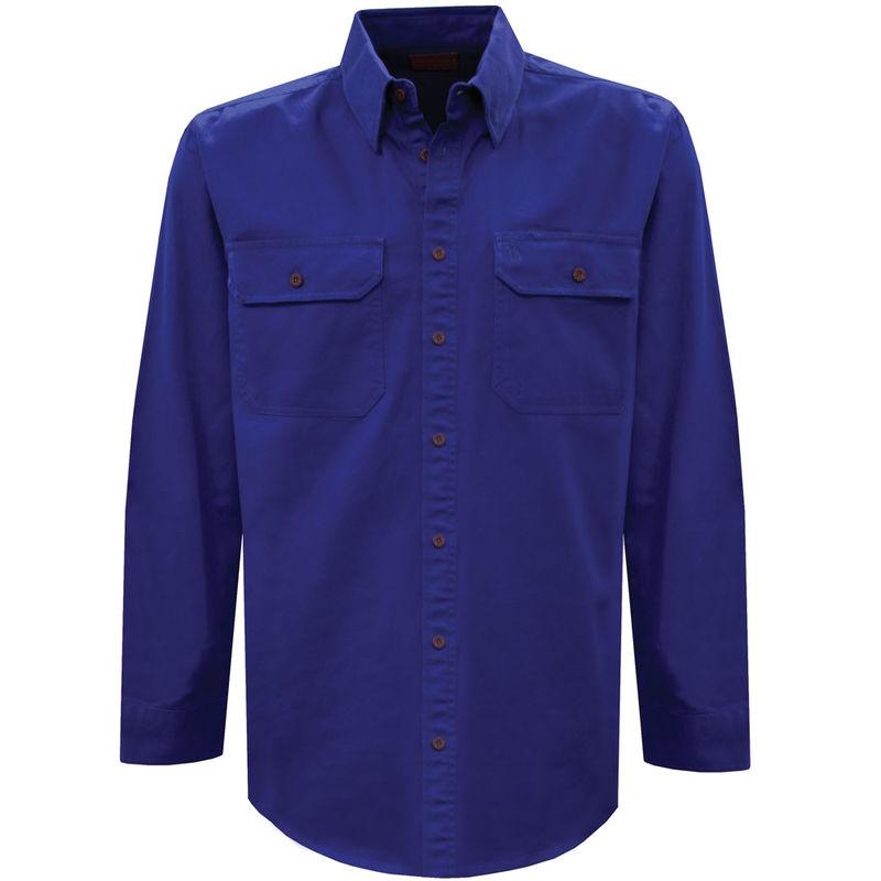 Thomas Cook Mens Light Drill 2PK LS Shirt