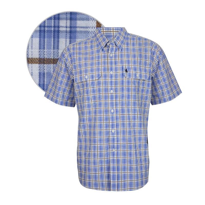 Thomas Cook Mens Lockhart Check 2PKT SS Shirt