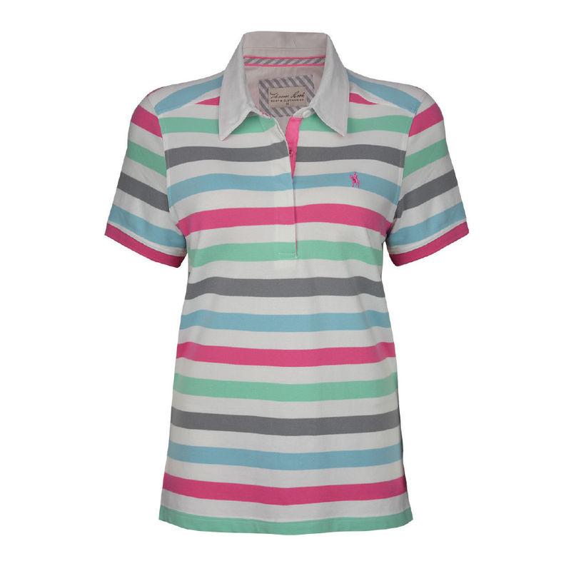 Thomas Cook Womenand39s Gem Stripe Polo