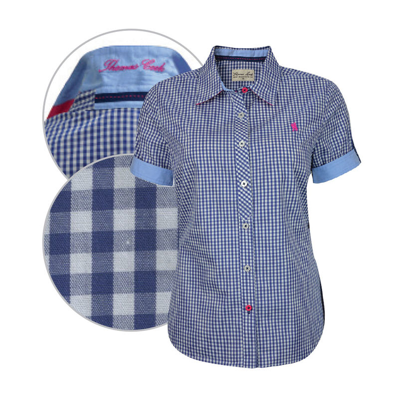 Thomas Cook Womens Griffith Check SS shirt