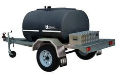 1 TTi - DieselPatrol 1000L - Trailer with 45L/min Pump and Lights