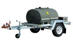 DieselPatrol 1000L - Diesel Refuelling Trailer with 45L/min Pump and Lights Sing
