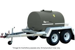 DieselPatrol 2000L - Diesel Refuelling Trailer with On-Farm Dual Axle by TTi