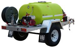FirePatrol15 1000L - Fire Fighting Trailer with On Road Single Axle by TTi