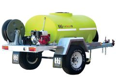 FirePatrol15 1200L - Fire Fighting Trailer with On Road Braked Single Axle by Tt