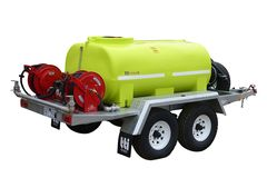 FirePatrol15 2000L - Fire Fighting Trailer with On Road Braked Dual Axle by Tti
