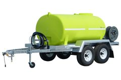 FirePatrol15 3000L - Fire Fighting Trailer with On Road Braked Dual Axle by Tti