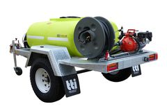 FirePatrol15 800L - Fire Fighting Trailer with On Road Braked Single Axle by Tti