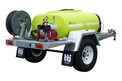 FirePatrol15 800L - Fire Fighting Trailer with On Road Single Axle by Tti