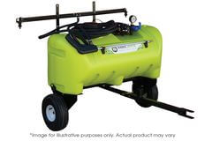 WeedControl 55L - 12v Zero Turn Spray Trailer with 8.3 L/min and 2m Boom by TTi