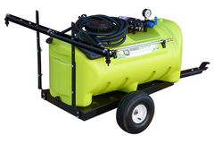 WeedControl 95L - 12v Spray Trailer with 8.3L/min Pump and 2m Boom by TTi