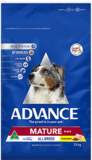 Advance Dog Adult Mature All Breed Chicken 15kg