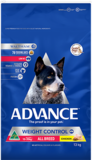 Advance Dog Adult Weight Control Large Breed Chicken 13kg