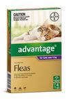 Advantage Cat Over 4kg 4 pack