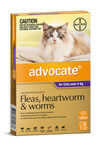 Advocate Cat Over 4kg (purple) 6's