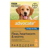 Advocate Dog - BLUE EXTRA LARGE DOG OVER 25KG (6 PACK)