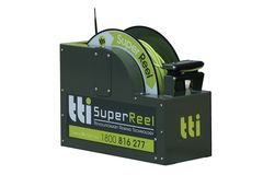 SuperReel 100m - Auto-Rewind Reel with Spray Gun by TTi