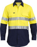 Bisley Long Sleeve Shirt XAirflow Yellow